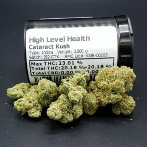 Cataract Kush Indica Strain