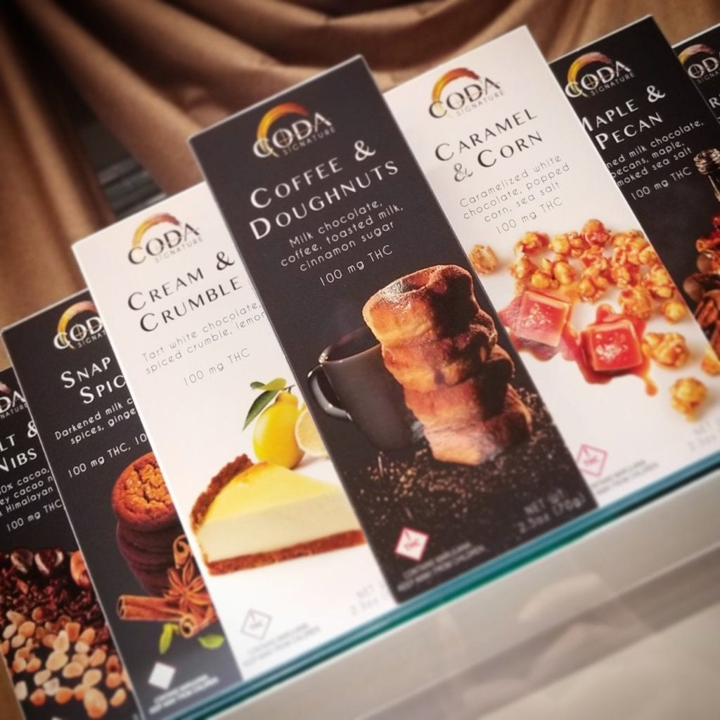 Coda Chocolate Bars