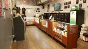Colfax Ave Location Dispensary Interior