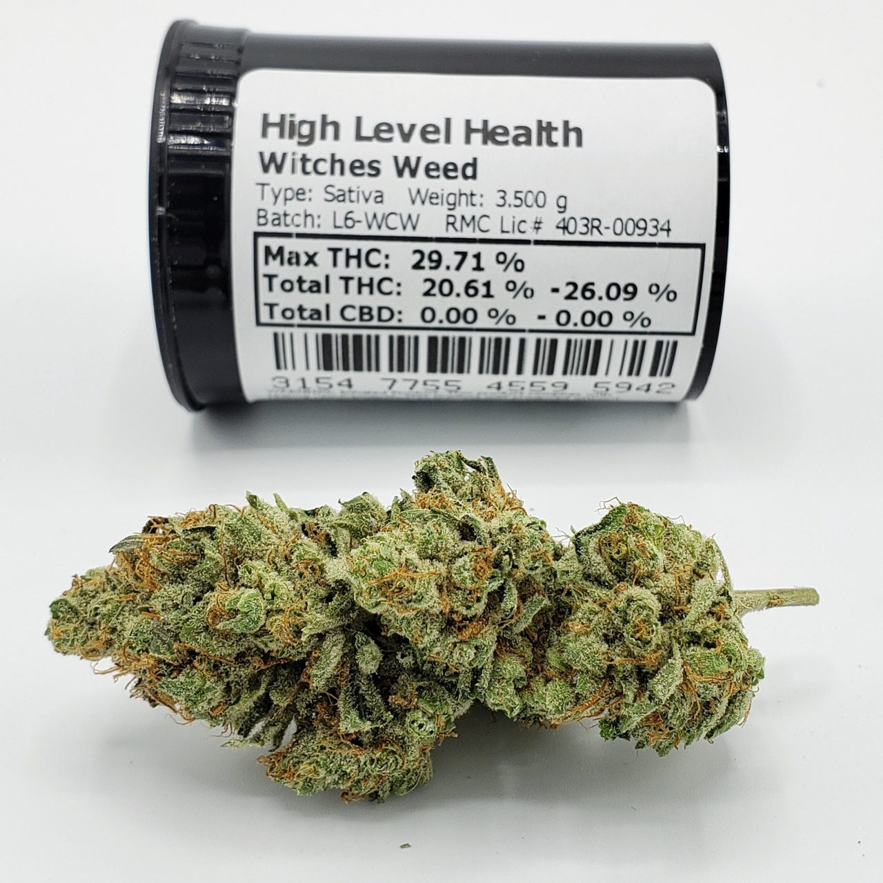 Witches Weed Sativa Cannabis Strain